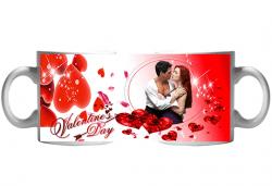 За Св. Валентин! Чаша с любима снимка и любовно послание за деня на влюбените от Сувенири Царево! - Снимка