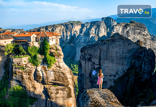 За Великден в Гърция! 2 нощувки със закуски на Олимпийската ривиера, 1 обяд, транспорт, посещение на Солун и Метеора - Снимка 1