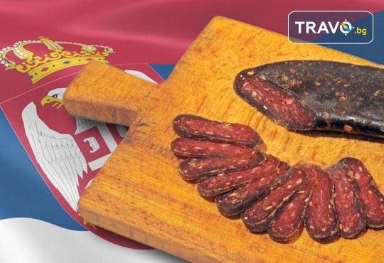 Еднодневна екскурзия до фестивала на пегланата колбасица в Пирот! Транспорт, екскурзовод и панорамна обиколка на Ниш - Снимка 1