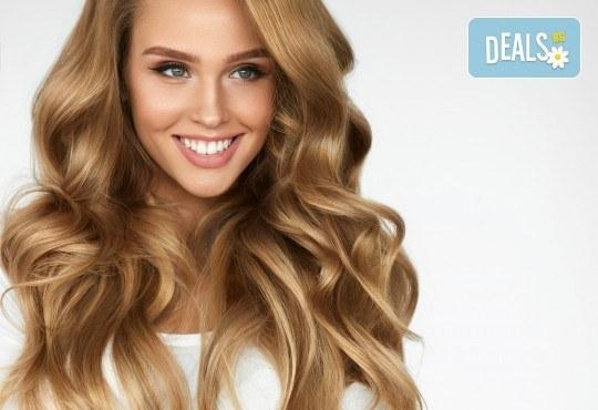 Терапия за коса, оформяне със сешоар и стилизиране на прическа в салон за красота Bibi Fashion! - Снимка 2