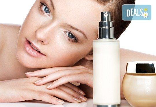 Почистване на лице, подхранване 6 в 1 и безиглена мезотерапия с испанска козметика Keenwell в Beauty Salon Tesori - Снимка 3