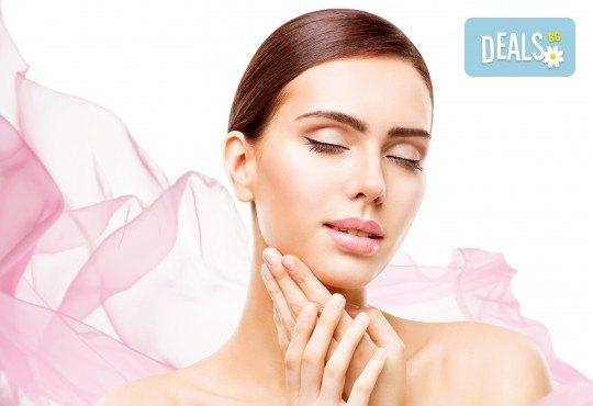 Почистване на лице, подхранване 6 в 1 и безиглена мезотерапия с испанска козметика Keenwell в Beauty Salon Tesori - Снимка 2