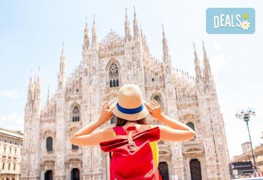 Самолетна екскурзия до Милано, с възможност за посещение на езерата Гарда, Комо и Лугано! 3 нощувки и закуски, самолетен билет и такси, водач от Дари Травел - Снимка 1