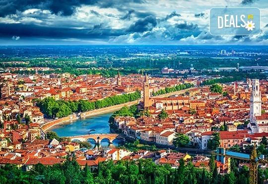 Ранни записвания за Великден в Италия и Хърватия! 3 нощувки със закуски, транспорт, посещение на Верона, Падуа и Загреб - Снимка 1