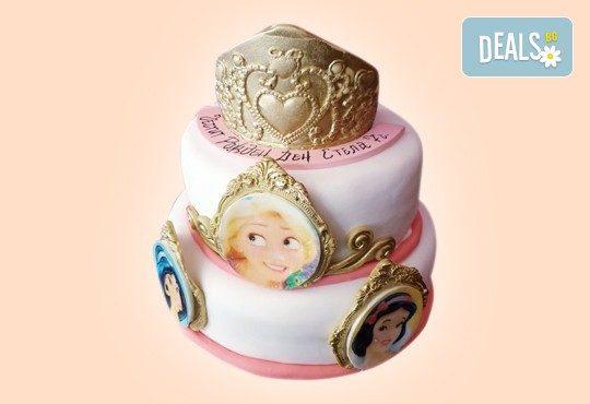 С доставка през април, май и юни! За момичета: красиви 3D торти за момичета с принцеси и приказни феи + ръчно моделирана декорация от Сладкарница Джорджо Джани - Снимка 61