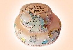 С доставка през март и април! За момичета: красиви 3D торти за момичета с принцеси и приказни феи + ръчно моделирана декорация от Сладкарница Джорджо Джани - Снимка