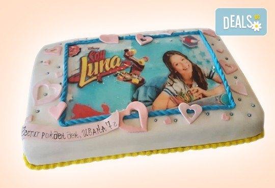 С доставка през април, май и юни! За момичета: красиви 3D торти за момичета с принцеси и приказни феи + ръчно моделирана декорация от Сладкарница Джорджо Джани - Снимка 85