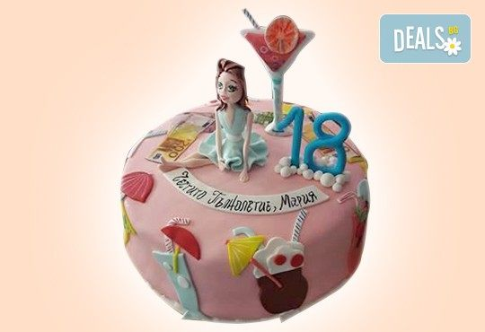 С доставка през април, май и юни! За момичета: красиви 3D торти за момичета с принцеси и приказни феи + ръчно моделирана декорация от Сладкарница Джорджо Джани - Снимка 87