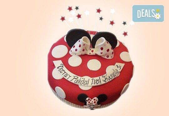 С доставка през април, май и юни! За момичета: красиви 3D торти за момичета с принцеси и приказни феи + ръчно моделирана декорация от Сладкарница Джорджо Джани - Снимка 77