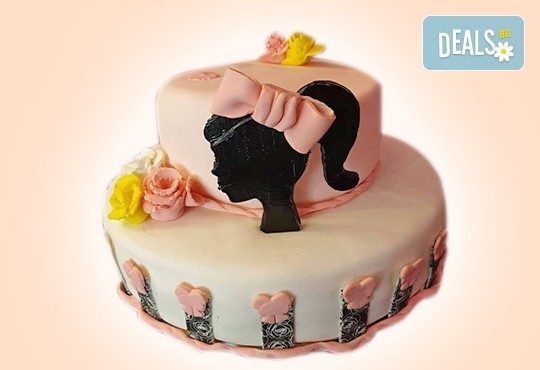 С доставка през април, май и юни! За момичета: красиви 3D торти за момичета с принцеси и приказни феи + ръчно моделирана декорация от Сладкарница Джорджо Джани - Снимка 4