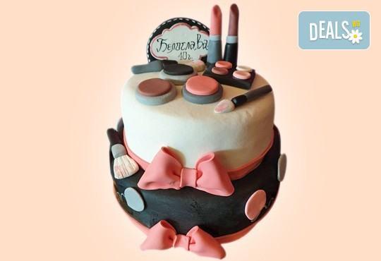 С доставка през април, май и юни! За момичета: красиви 3D торти за момичета с принцеси и приказни феи + ръчно моделирана декорация от Сладкарница Джорджо Джани - Снимка 14