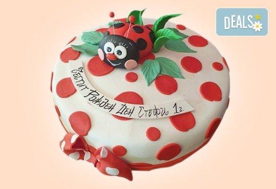 С доставка през април, май и юни! За момичета: красиви 3D торти за момичета с принцеси и приказни феи + ръчно моделирана декорация от Сладкарница Джорджо Джани - Снимка 32