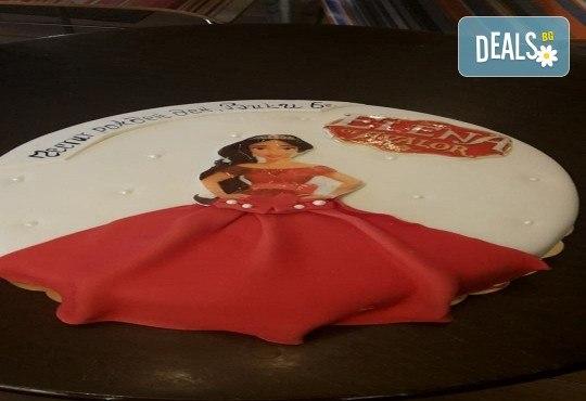 С доставка през април, май и юни! За момичета: красиви 3D торти за момичета с принцеси и приказни феи + ръчно моделирана декорация от Сладкарница Джорджо Джани - Снимка 29