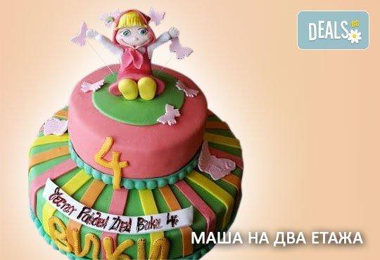 С доставка през април, май и юни! За момичета: красиви 3D торти за момичета с принцеси и приказни феи + ръчно моделирана декорация от Сладкарница Джорджо Джани - Снимка 58