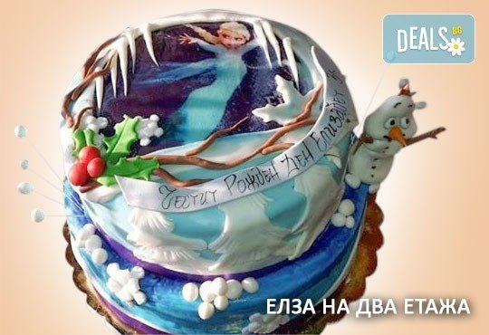 С доставка през април, май и юни! За момичета: красиви 3D торти за момичета с принцеси и приказни феи + ръчно моделирана декорация от Сладкарница Джорджо Джани - Снимка 41