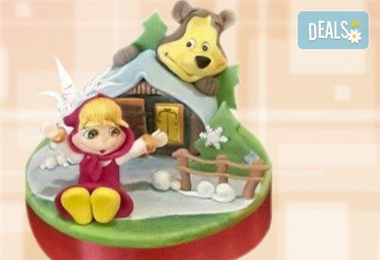 С доставка през април, май и юни! За момичета: красиви 3D торти за момичета с принцеси и приказни феи + ръчно моделирана декорация от Сладкарница Джорджо Джани - Снимка 60