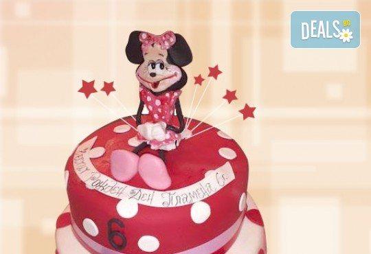 С доставка през април, май и юни! За момичета: красиви 3D торти за момичета с принцеси и приказни феи + ръчно моделирана декорация от Сладкарница Джорджо Джани - Снимка 18