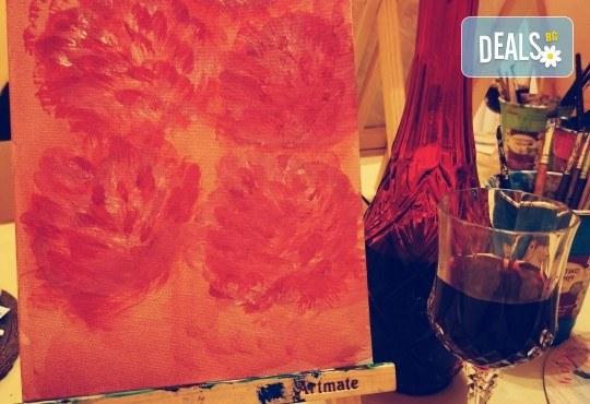 Настроение и изкуство! 3 часа арт занимания по избор и чаша вино в Арт школа Слънчеви приказки - Снимка 3