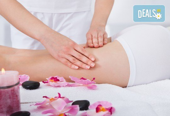 Антицелулитен масаж със силно загряващ гел за максимален ефект и нанасяне на стягаща ампула в салон за красота Вили! - Снимка 2