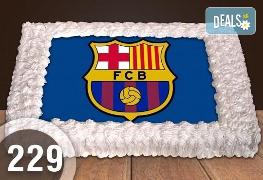 За феновете на спорта! Торта със снимка за почитателите на футбола или други спортове от Сладкарница Джорджо Джани - Снимка 5