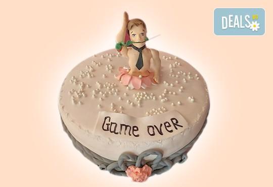 С доставка през април, май и юни! Еротична торта за моминско или ергенско парти или за специален празник на любим човек от Сладкарница Джорджо Джани - Снимка 5