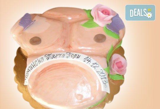 С доставка през април, май и юни! Еротична торта за моминско или ергенско парти или за специален празник на любим човек от Сладкарница Джорджо Джани - Снимка 11