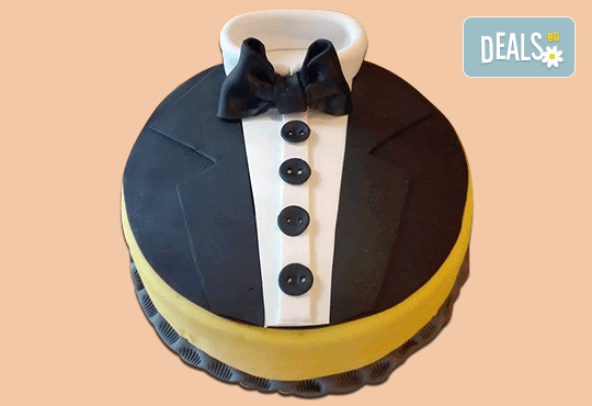 С доставка през март и април! Торта за мъже с индивидуален дизайн и размери по избор от Сладкарница Джорджо Джани - Снимка 7