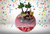 С доставка през март и април! Торта за бебе: детска фигурална торта 1/2 за бебоци на шест месеца от Сладкарница Джорджо Джани - thumb 1