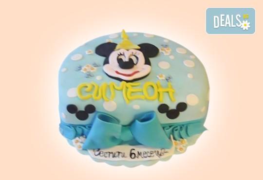Торта за бебоци! Торта за бебе на 6 месеца от Сладкарница Джорджо Джани!