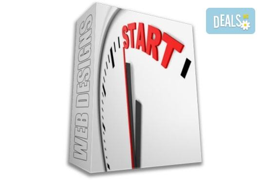Осъществете идеите си! Пакет Старт - изработка на уеб сайт до 8 страници, хостинг план и домейн от Web Designs Ltd - Снимка 1
