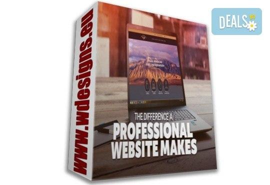 Качествена изработка на супер цена! Вземете пакет Професионален - изработка на уеб сайт с неограничен брой страници, хостинг план, домейн и безплатна поддръжка 24/7 от Web Designs Ltd - Снимка 1