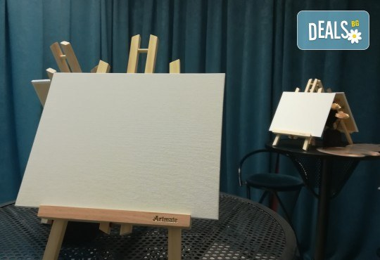 3 часа рисуване на Пълнолуние с акварел на 24.01. от 19ч. + чаша вино в Пух арт студио - Снимка 15