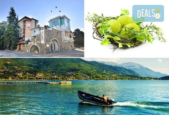Ранни записвания за Великден в Охрид! 3 нощувки в центъра, транспорт, екскурзовод и посещение на Скопие и Струга - Снимка 1