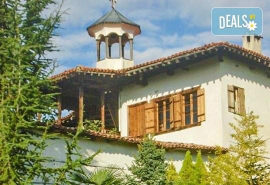 За Трифон Зарезан в Мелник! Транспорт, водач, посещение на Роженския манастир, Рупите и дегустация на вино в Кордупуловата къща - Снимка 5