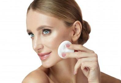 Сияйна кожа! Медицинско почистване на лице и нанасяне на подхранваща ампула според типа кожа в Beauty Salon Tesori - Снимка