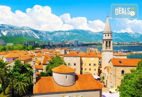 Ранни записвания за мини почивка на Будванската ривиера! 3 нощувки със закуски и вечери, транспорт и възможност за посещение на Дубровник и Котор - Снимка 1