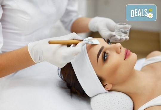 Супер избелваща терапия за премахване на пигментни петна и изравняване на тена с мигновен ефект в салон за красота Вили - Снимка 1