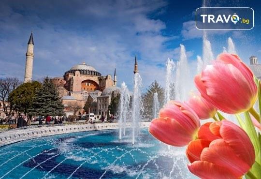 Мини ваканция в Истанбул за Фестивала на лалето! 2 нощувки със закуски в хотел 3*, транпорт от Варна и Бургас и посещение на Лозенград - Снимка 1
