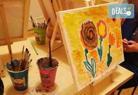 2 - часова Арт школа за деца от 4 до 13 години при професионален педагог в Арт школа Слънчеви приказки - Снимка 2