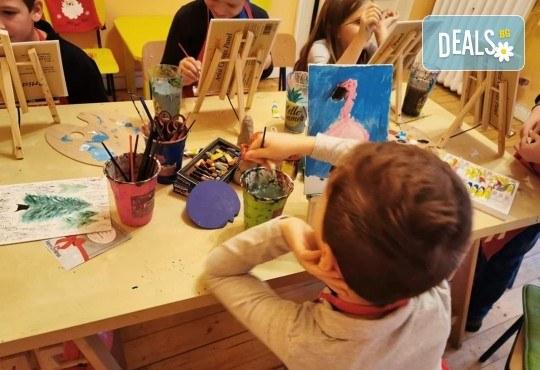 2 - часова Арт школа за деца от 4 до 13 години при професионален педагог в Арт школа Слънчеви приказки - Снимка 1