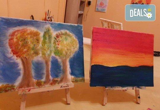2 - часова Арт школа за деца от 4 до 13 години при професионален педагог в Арт школа Слънчеви приказки - Снимка 6