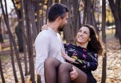 За Свети Валентин! Портретна фотосесия за двама на открито или в студио с 25 обработени кадъра от Фото Студио Амели - Снимка