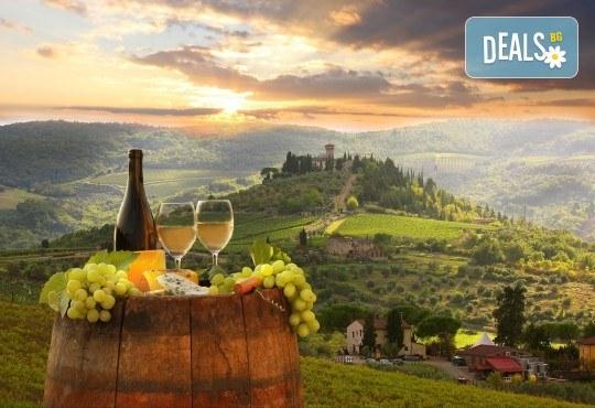 До Тоскана, о. Елба и дегустация на вино в Монтепулчано: 5 нощувки и закуски, транспорт