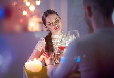 Специално предложение за Свети Валентин! Романтична вечеря за двама с изискано меню в Скай Бар Грами на 14-ти февруари - Снимка
