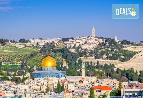 Посетете светите места в Израел през март! 3 нощувки със закуски в хотел 3*, самолетен билет, обиколка на Тел Авив и Яфо - Снимка 1