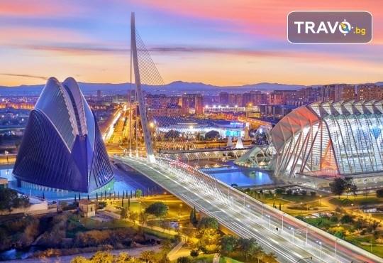 Екскурзия до слънчева Валенсия през февруари или март! 3 или 4 нощувки в центъра на града, самолетен билет с включени летищни такси и ръчен багаж - Снимка 2