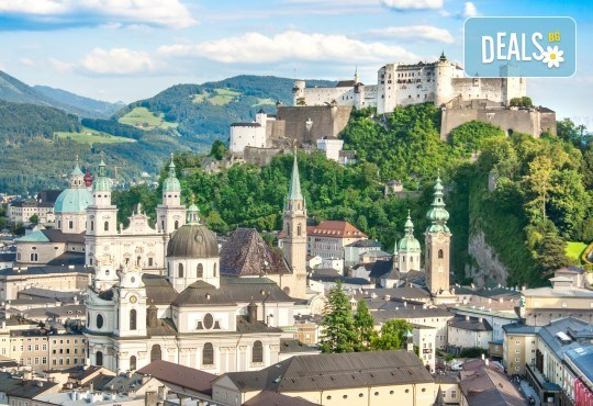 Екскурзия до Виена, Залцбург, Любляна и Будапеща: 4 нощувки и закуски, транспорт