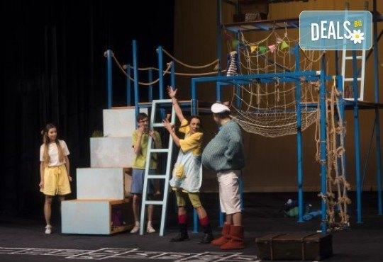 На театър с децата! Гледайте Пипи на 22.02. от 11ч. в Театър София, билет за двама - Снимка 4