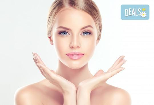 Ултразвуково почистване на лице, шия, деколте или гръб чрез нанотехнология за дълбока дезинфекция и видимо въздействие върху всеки тип кожа, в центрове Енигма! - Снимка 2
