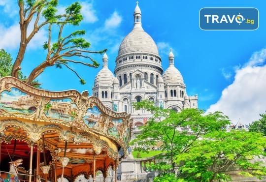 Романтика в Париж през пролетта! 7 нощувки със закуски в хотел 3*, самолетни билети и транспорт с автобус, представител от Луксъри Травел - Снимка 1